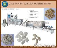 Soya chunks processing line