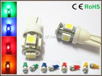 Bright 194 168 W5W T10 5 5050-SMD LED Car Parking Tail Light Bulbs New
