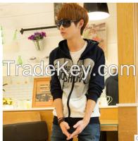 China 100% cotton windproof warm fashion winter young men's hoodies
