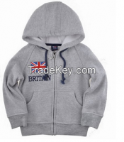 Children clothing manufacturers china kids hooded sweater