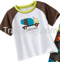 Top quality China manufactures children clothes children t shirt printed