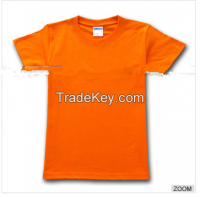 Custom Made Combed Cotton  Round Neck TShirt For Printing