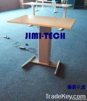 electric adjustable desk, lifting column