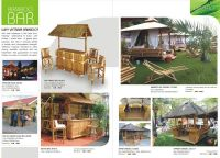 Bamboo outdoor house