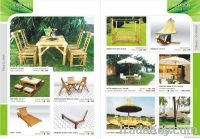 Outdoor Bamboo furniture