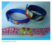 beautiful soft PVC wristband