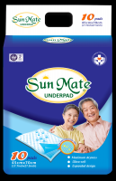 SUNMATE UNDERPAD ULTRA COMFORTABLE HIGH QUALITY MADE IN VIETNAM