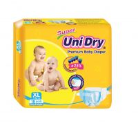 SUPER UNIDRY PREMIUM BABY DIAPERS, HIGH QUALITY GOOD PRICE MADE IN VIETNAM