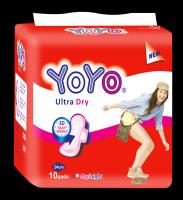 YOYO COMFORT ULTRA DRY GOOD QUALITY SANITARY NAPKIN MADE IN VIETNAM