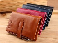 High Quality Genuine Men Leather Wallet