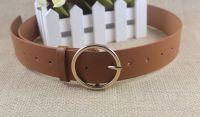 Brown O Ring Belt For Women