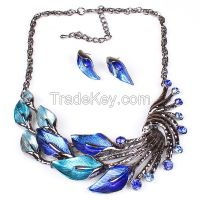 Vintage  necklace leaves