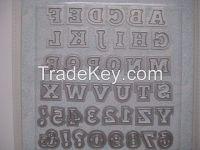 Spellbinders DIY letter template Die cut letters ET-6502