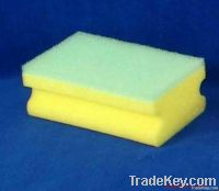 flat washing sponge