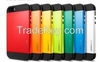 SGP Spigen Slim Armor Case for iPhone 6 TPU+PC Case for iphone6 4.7 inch protective case for iphone 6/5/4 samsung S5/4/3