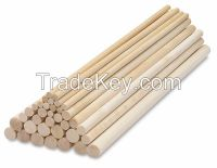 Manufacture Wooden Dowels and Rods