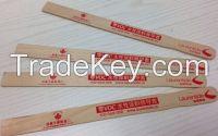 wooden paint paddles, wooden paint stirring sticks, wooden paint stirrers, paint paddle