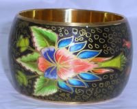 Brass Bangle Hand Made with finish multi colour