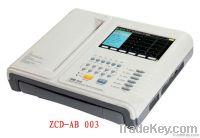 portable mini single channel digital ECG machine