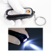 Rechargeable USB lighter with Mini LED torch