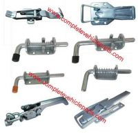 trailer latches�spring catches latches, trailer parts, antiluce, toggle fasteners, drop lock, trailer accessories, trailer door lock, trailer components