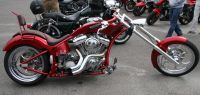 Fashionable Chopper Motorcycle, Tour Motorcycles