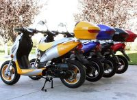 50cc 4 Stroke Gas Motor Scooters Pre-Assembled with Thunk