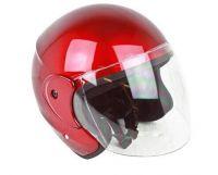 3/4 Open Face Helmet with Flip Up Shield