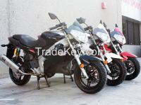 150cc Gas Moped Motorcycle Style