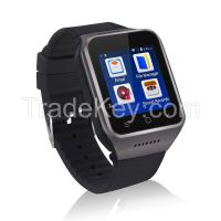 2015 New 1.54 inch Android 4.4 Watch Phone Dual Core GPS 5MP Mobile Phone Watch Watch