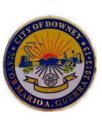 city of downey,mayor mario a. guerra badges