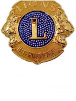 International lions club badges