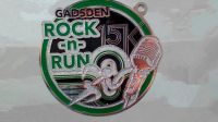 Gadsden rock & run badges