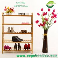 2013 High Quality Practical 5-Layer Bamboo Floor Shoe Rack/Shoe Holder