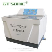 Single frequency ultrasonic cleaner medical device cleaner