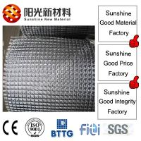 Polyester geogrid with high tensile and modulus