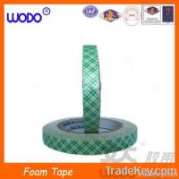 High adhesion double sided EVA/PE foam tape