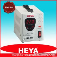relay type full automatic voltage regulator