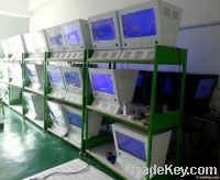 21.5inch 1, 000nits dual-screens  advertising player for gas station