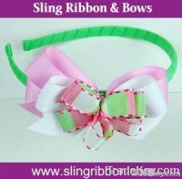 Ribbon Flower Bow Accessory Kids Hairbands