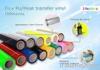 Factory sale flex PU Heat transfer vinyl