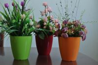 2013 Hot Sales Durable Highlight Round Flower Pots