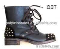 Holywin fashion winter women punk boots