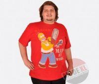 Big Size Slevee OEM T-shirt for Men