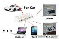 12000Mah portable power bank case with car diy jump starter