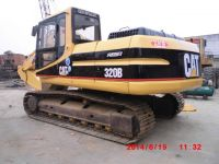 Used caterpillar excavator 320B