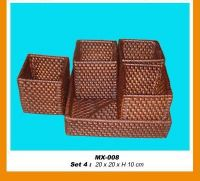 rattan & bamboo baskets