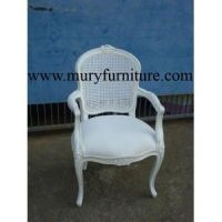 JACINTE FRENCH RATTAN ARMCHAIR