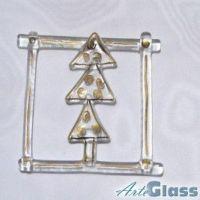 Glass Christmas Adornments