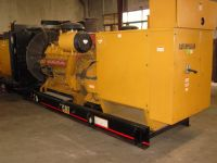 Used CAT genset for rental and sale C3412-480KW/520KW/640KW/720KW